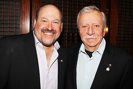 2012 Tony Brunch – Frank Wildhorn – Emanuel Azenberg