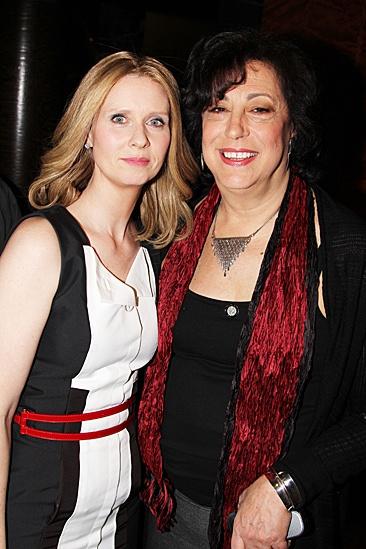 2012 Tony Brunch – Cynthia Nixon – Lynne Meadow