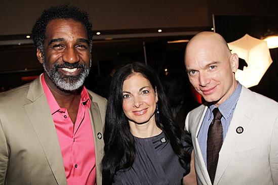 2012 Tony Brunch – Norm Lewis – Spencer Kayden – Michael Cerveris