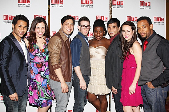 Manhattan Theatre Club – Spring Gala 2012 – Corbin Bleu – Lindsay Mendez – George Salazar – Nick Blaemire – Uzo Aduba – Telly Leung – Hannah Elless – Wallace Smith