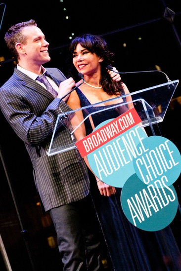 2012 Audience Choice Awards – Ceremony Photos – Adam Pascal – Daphne Rubin-Vega