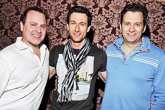 Mamma Mia – 2012 New Cast Opening Night – Daniel Cooney – Aaron Lazar – Graham Rowat