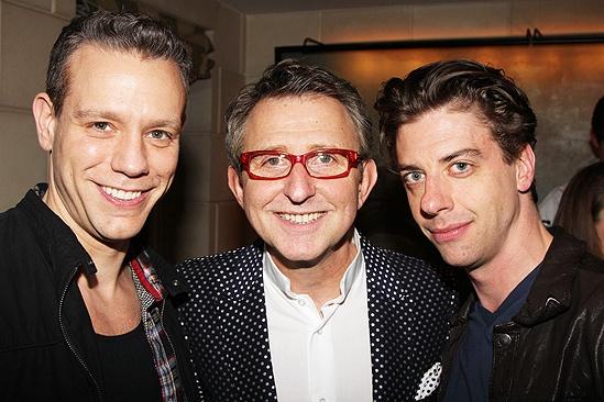 Peter and the Starcatcher Book Party – Adam Pascal – Thomas Schumacher – Christian Borle