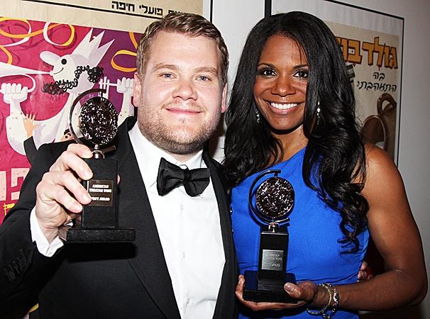 2012 Tony Awards Winner's Circle – James Corden- Audra McDonald