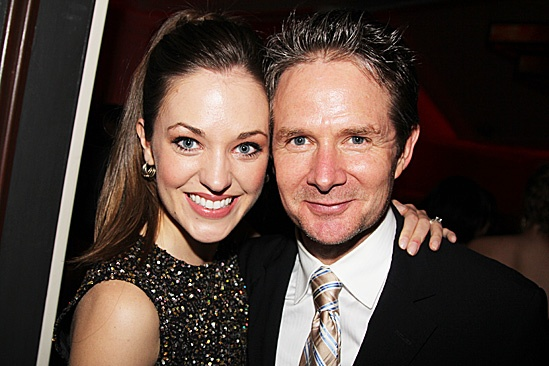 Harvey - Opening Night – Laura Osnes – Peter Benson