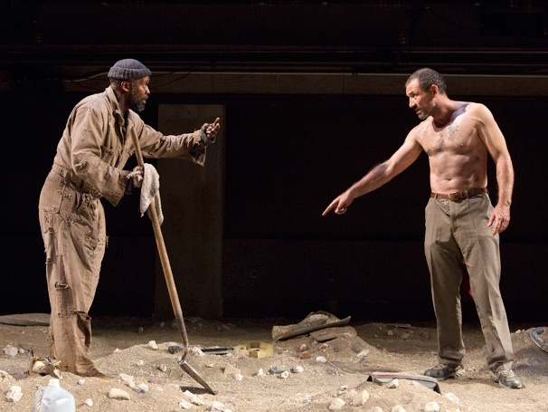 Show Photos - The Train Driver - Leon Addison Brown - Ritchie Coster