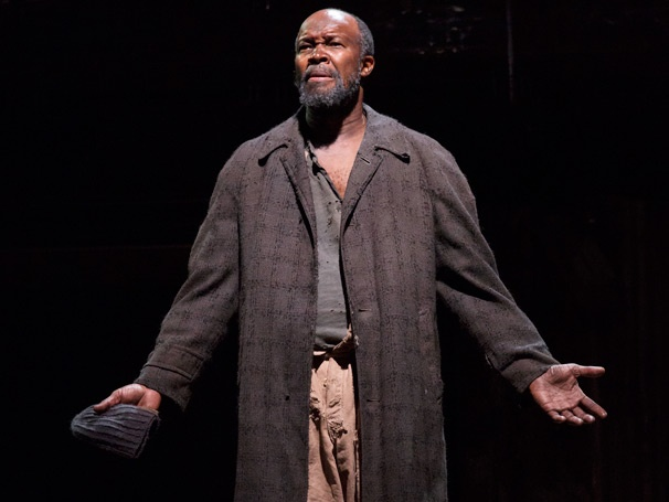 Show Photos - The Train Driver - Leon Addison Brown