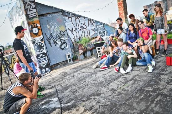 Bare Photo Shoot- Cast