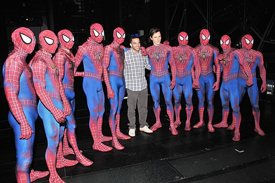 Spider-Man – Danell Leyva Visit – Spider-men – Danell Leyva – Reeve Carney