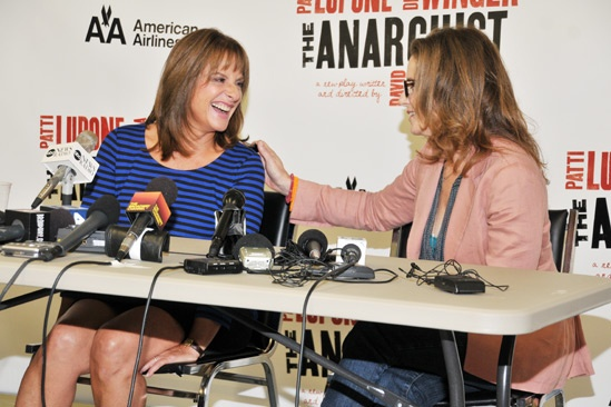The Anarchist Meet and Greet- Patti LuPone – Debra Winger