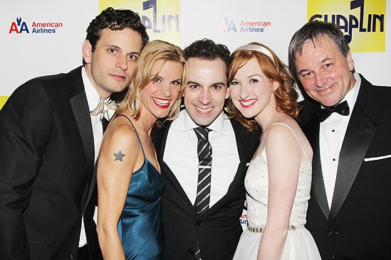 Chaplin – Opening Night – Wayne Alan Wilcox – Jenn Colella – Rob McClure – Erin Mackey – Jim Borstelmann
