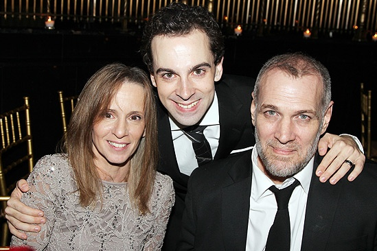 Chaplin – Opening Night – mom - Rob McClure – dad