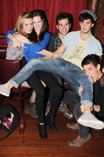 Carrie- Listening Party- Jennifer Damiano- Meghann Fahy- Adam Chanler-Berat –Wesley Taylor- Preston Sadleir