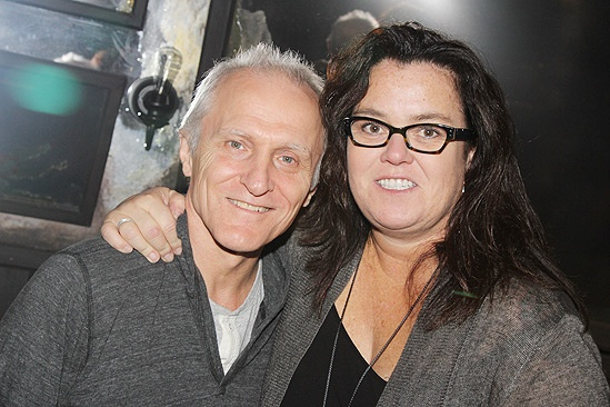 Rosie O'Donnell at 'Once' — David Patrick Kelly — Rosie O'Donnell
