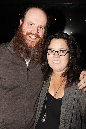 Rosie O'Donnell at 'Once' — Paul Whitty — Rosie O'Donnell