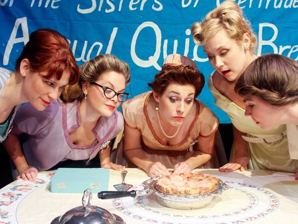 Show Photos - 5 Lesbians Eating a Quiche - cast