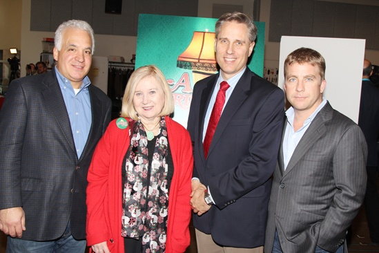 'A Christmas Story' Meet and Greet — Michael F. Mitri — Pat Flicker Addiss — Gerald Goehring — Peter Billingsley