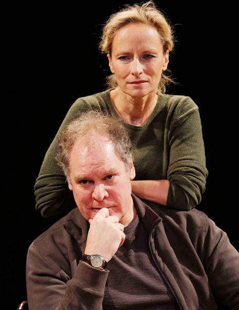 Show Photos - Sorry - Laila Robins as Marian Apple Platt and Jay O. Sanders as Richard Apple