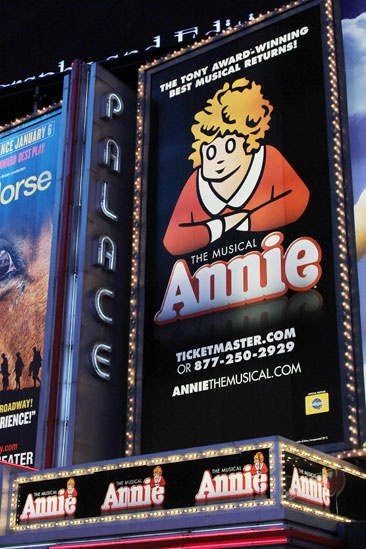 Annie- The Palace Theatre