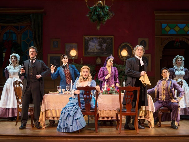 Show Photos - The Mystery of Edwin Drood - Will Chase - Stephanie J. Block - Betsy Wolfe - Jessie Mueller - Jim Norton - Andy Karl