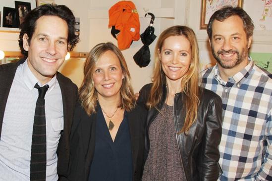 Judd Apatow at Grace – Paul Rudd – Leslie Mann – Judd Apatow – Julie Yaeger