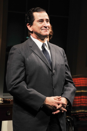 Checkers opening night – Anthony LaPaglia (curtain call)