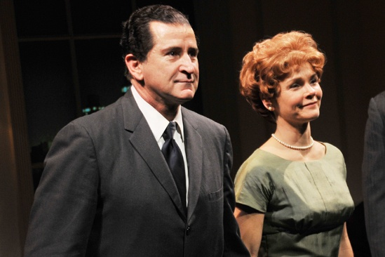 Checkers opening night – Anthony LaPaglia – Kathryn Erbe