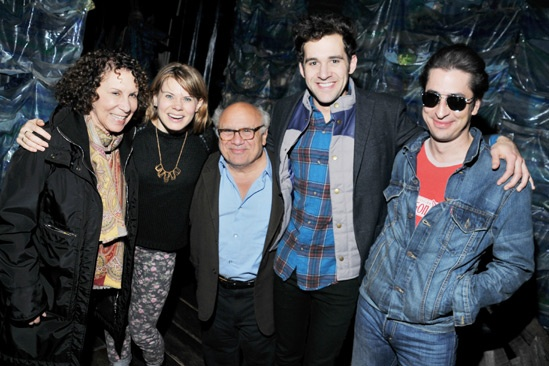 Danny DeVito and Rhea Perlman at Peter and the Starcatcher – Eric Petersen – Rhea Perlman