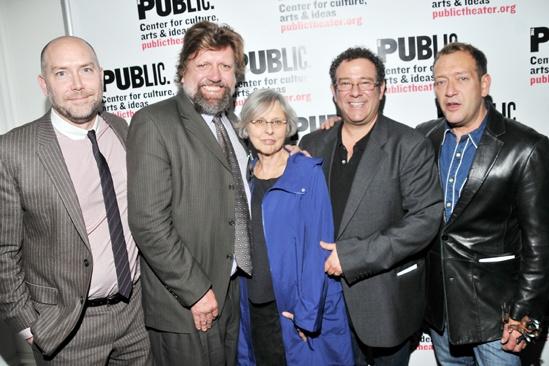 'Giant' Opening Night — Patrick Willingham — Oskar Eustis — Sybille Pearson — Michael Greif — Michael John LaChiusa