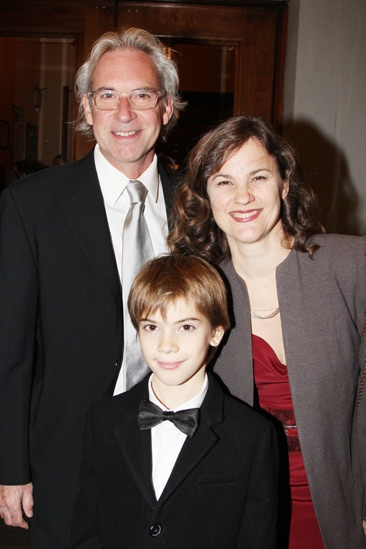 'A Christmas Story' Opening Night — David Esbjornson — Elizabeth Hope Clancy