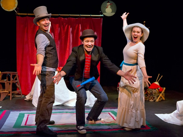 Show Photos - The Velveteen Rabbit - John Curcuru, Jim Stanek and Kristin Parker