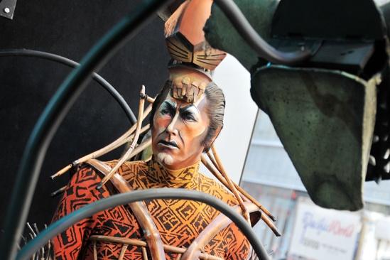 Lion King Exhibit- Scar Costume
