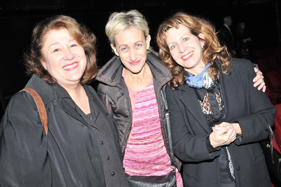 Steel Magnolias benefit reading – Margo Martindale – Constance Shulman – Betsy Aidem