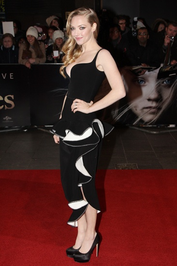 Les Miserables London premiere – Amanda Seyfried