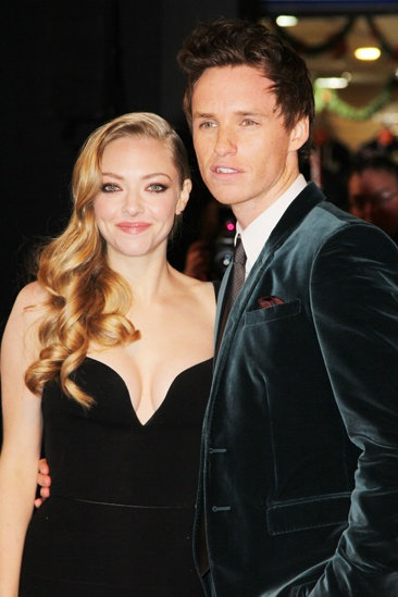 Les Miserables London premiere – Amanda Seyfried – Eddie Redmayne