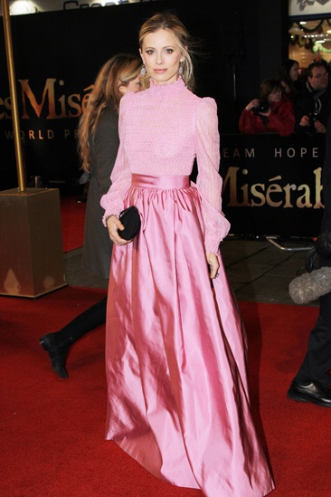 Les Miserables London premiere – Emilia Fox