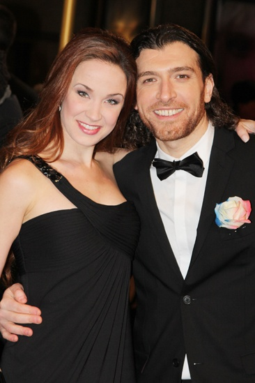 Les Miserables London premiere – Sierra Boggess – Tam Mutu