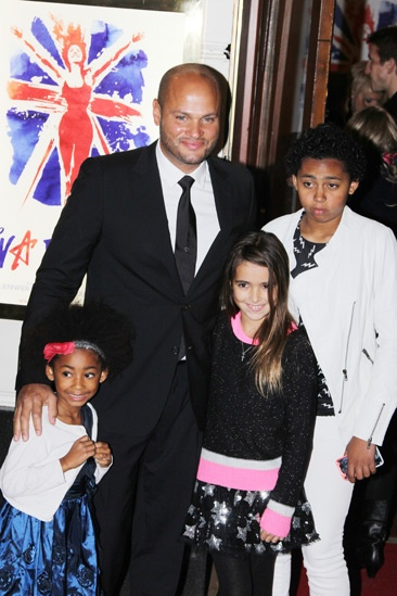 Viva Forever opening night – Stephen Belafonte – children