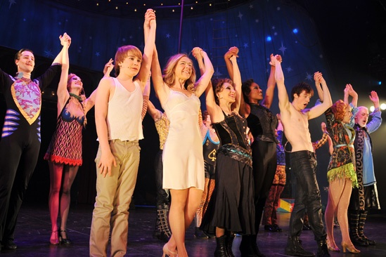 Pippin at ART – Opening Night - cast