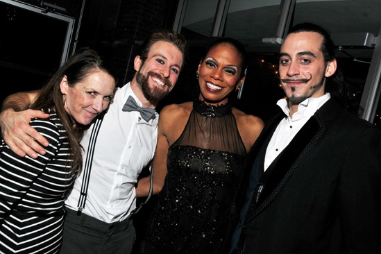 Pippin at ART – Opening Night – Gypsy Snider – Colin Cunliffe – Stephanie Pope – Yannick Thomas