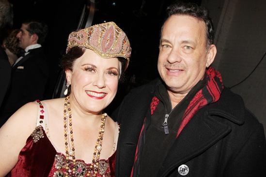 Nice Work – Tom Hanks Backstage – Judy Kaye – Tom Hanks