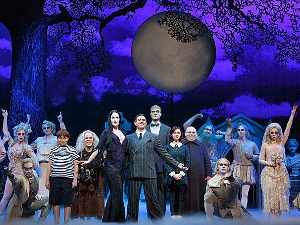 Show Photos - The Addams Family - tour