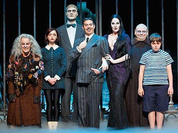 Show Photos - The Addams Family - tour