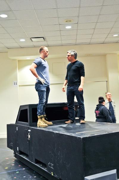Hands on a Hardbody – Rehearsal – David Larsen – Neil Pepe