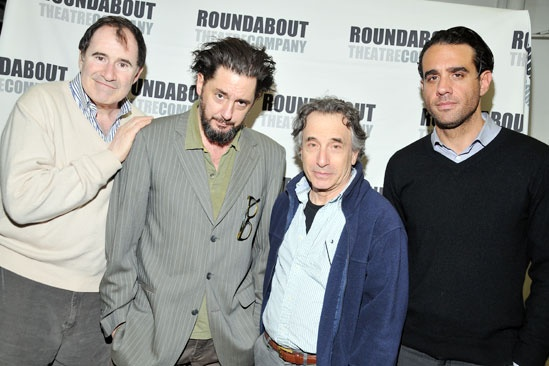 'The Big Knife' Press Event — Richard Kind — Reg Rogers — Chip Zien — Bobby Cannavale