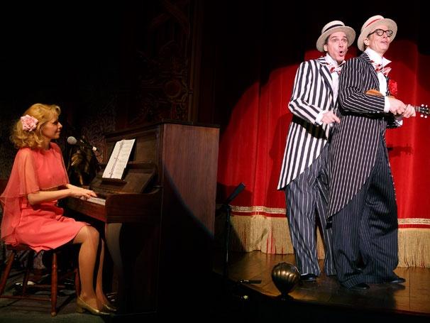 Show Photos - Old Hats - Nellie McKay - David Shiner - Bill Irwin