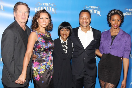 The Trip to Bountiful – Meet and Greet – Tom Wopat – Vanessa Williams – Cicely Tyson – Cuba Gooding Jr. – Condola Rashad