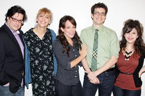 The Memory Show meet and greet – Joe Calarco – Catherine Cox – Leslie Kritzer – Zach Redler – Sara Cooper