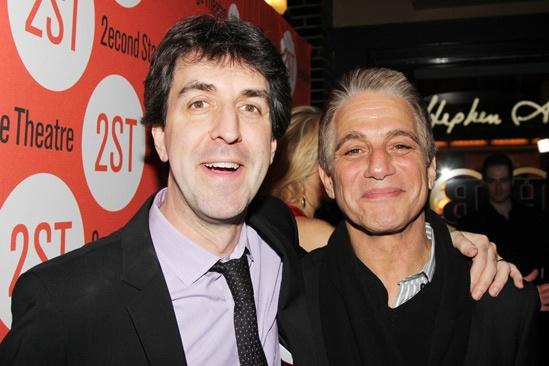 The Last Five Years – Opening Night – Jason Robert Brown – Tony Danza