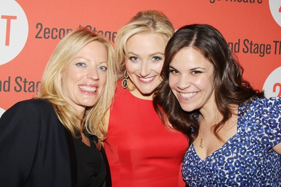 The Last Five Years – Opening Night – Sherie Rene Scott – Betsy Wolfe – Lindsay Mendez